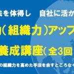 【セミナー】チーム力(組織力)アップ養成講座(全3回)(大阪市西区)